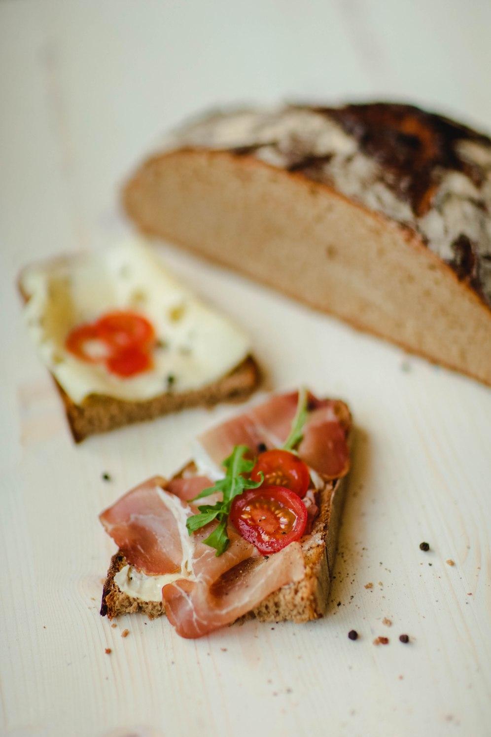 Am besten schmeckt das Heimatbrot mit Münsterländer Knochenschinken