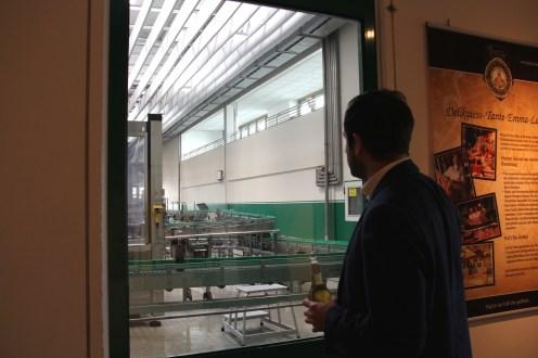 In der Naturpark-Brauerei am Oelder Stadtrand kann jeder Produktionsschritt verfolgt werden.