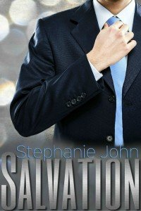 Photo of the cover of the contemporary romance novel, Salvation, by author Stephanie John