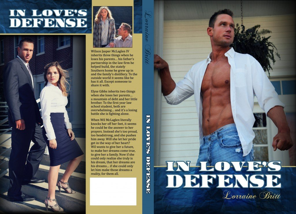 Full cover of In Love's Defense, by author Lorraine Britt