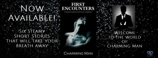 Photo Banner featuring the cover of First Encounters, by Charming Man