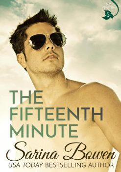 Book Cover for The Fifteenth Minute, by Sarina Bowen