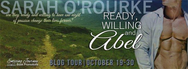 Ready Willing _ Abel Blog Tour Banner