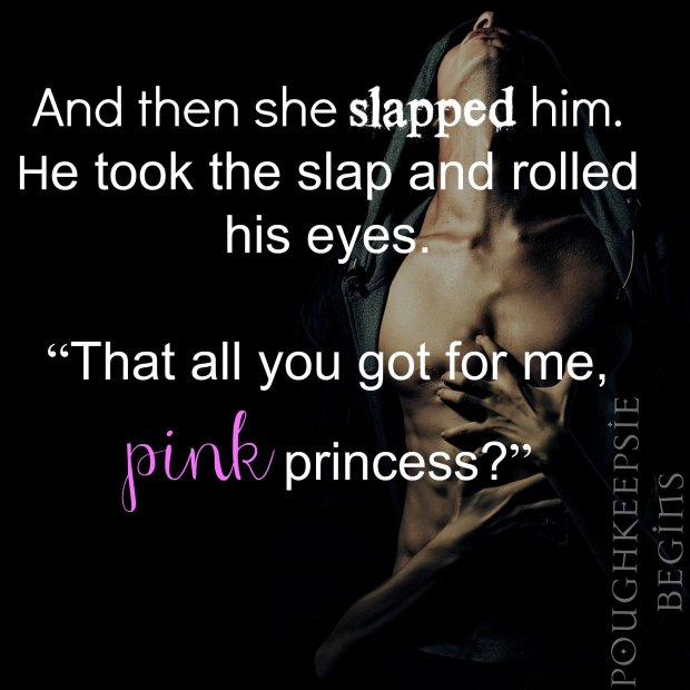 Pink Princess Quote on a PhotoTeaser from Poughkeepsie Begins