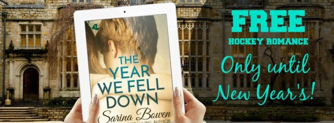 Sale Banner Ad for books by Sarina Bowen