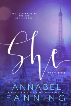 Book Cover for She, Part 2, by Annabel Fanning
