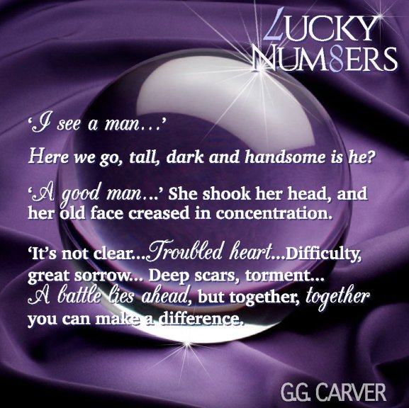 A Photo Teaser for Lucky Numbers by G G Carver