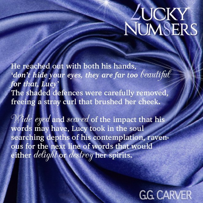 Tease Quote r for Lucky Numbers by G G Carver