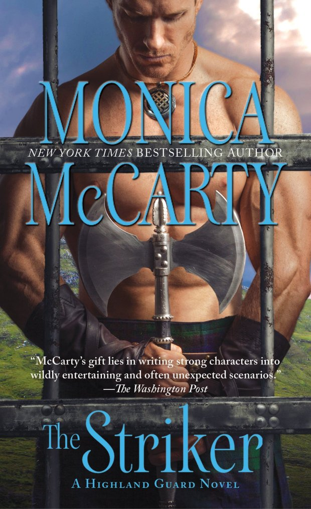 Photo of the cover of The Striker, a historical romance by Monica McCarty
