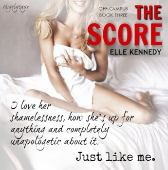 Teaser from The Score, by Elle Kennedy