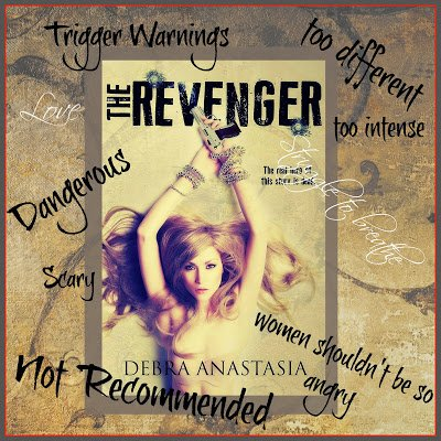 Photo of the cover of The Revenger, with teasers