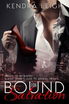 Cover of Bound For Salvation, #2 in the Bound Trilogy by Kendra Leigh
