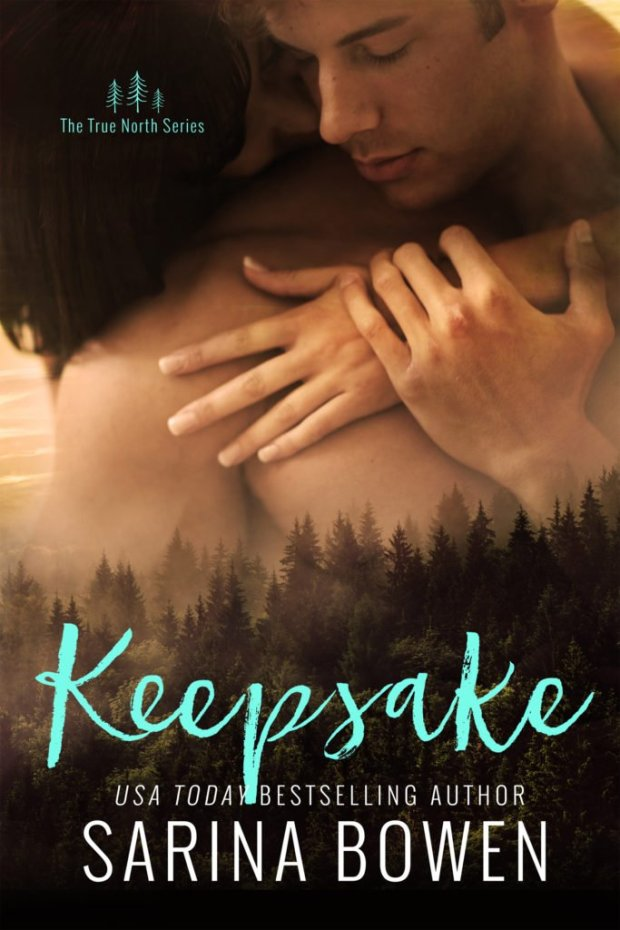 Cover Photo - Keepsake, by Sarina Bowen, #2 in the True North series