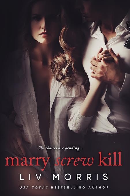 book cover, marry screw kill