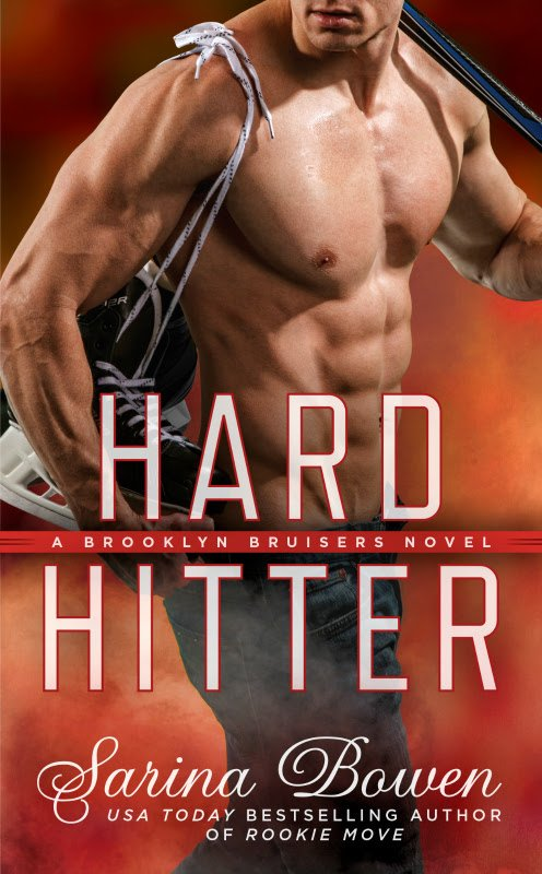 Front Cover of Hard Hitter, #2 in the Brooklyn Bruisers series by Sarina Bowen