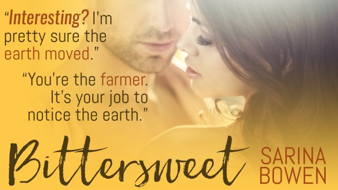 Teaser Banner Ad for Bittersweet by Sarina Bowen