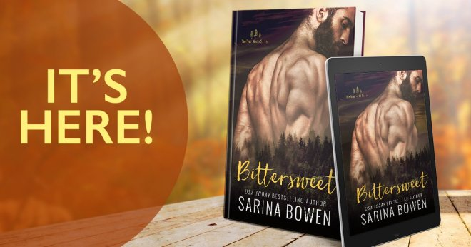 Banner Ad - Bittersweet, by Sarina Bowen