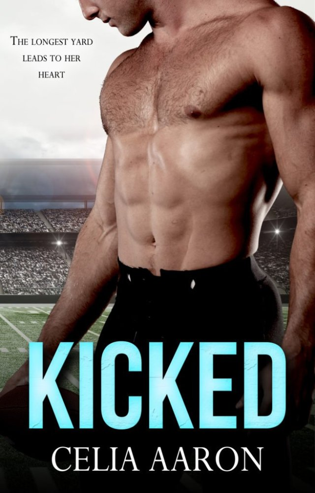 Book Cover - Kicked, by Celia Aaron