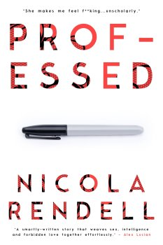 Book Cover, Professed, by Nicola Rendell