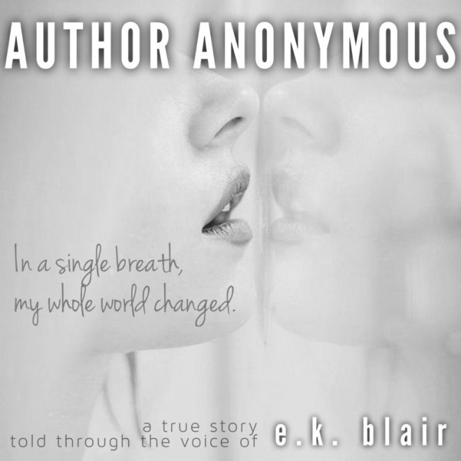 Teaser Ad for Author Anonymous, by E. K. Blair