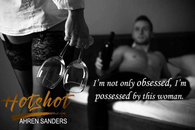 Photo of a scene from Hotshot, by Ahren Sanders, with a teaser quote
