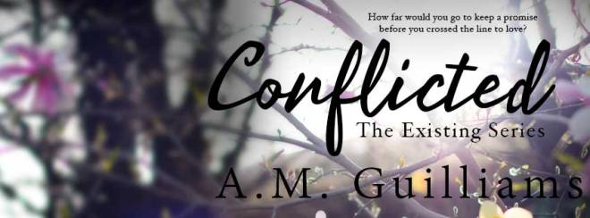 Release Banner for Conflicted, by A M Guilliams