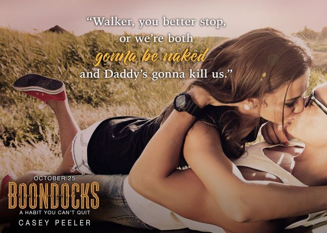 Teaser photo and quote from Boondocks, by Casey Peeler