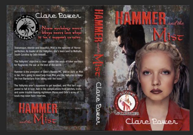 Full cover, Hammer and the Mist, by Clare Power