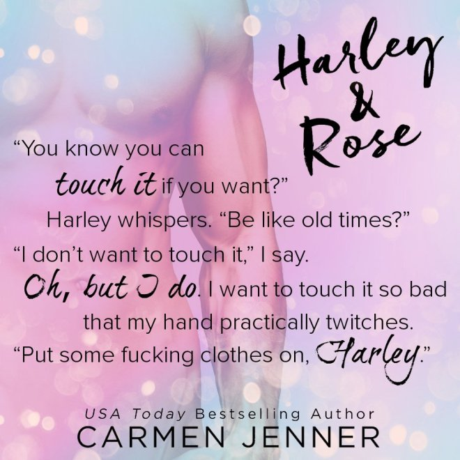 A quote from Harley & Rose