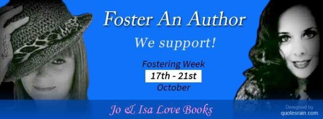 Promotional Banner, Foster An Author Event, FAA2, 2016