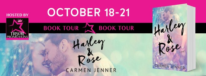Book Tour Banner for Harley and Rose by Carmen Jenner