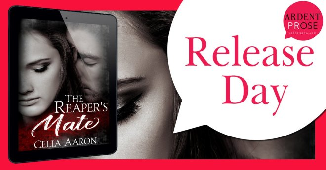 Release Banner for The Reaper's Mate, by Celia Aaron