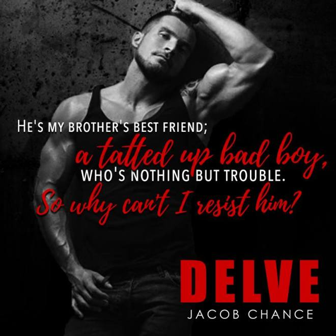 A photo of an athletic man, with a teaser from DELVE, by Jacob Chance