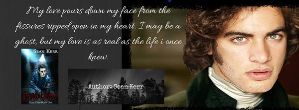 Promotional Banner with a quote from Dead Camp by Sean Kerr