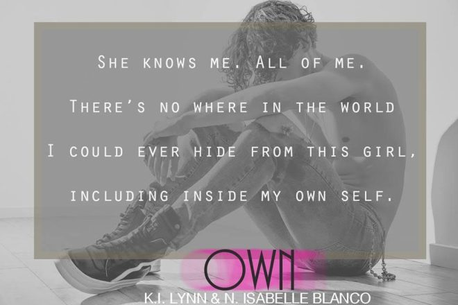 Photo and teaser quote from Own