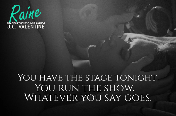 Teaser Photo and quote from Raine, currently on sale by J. C. Valentine