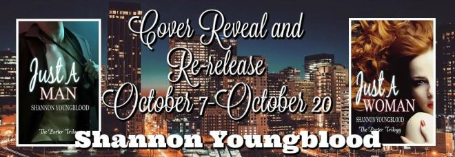 Re-Release Banner for The Porter Trilogy by Shannon Youngblood