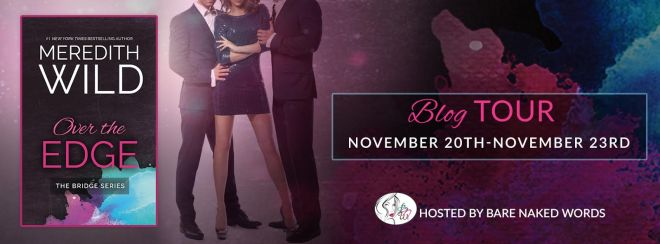 Blog Tour Banner for Over The Edge, by Meredith Wild