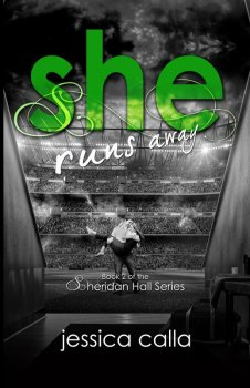 Front Cover, She Runs Away, by Jessica Calla