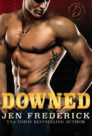 Front cover of DOWNED, by Jen Frederick