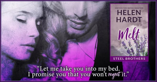 Teaser photo and quote from Melt, by Helen Hardt
