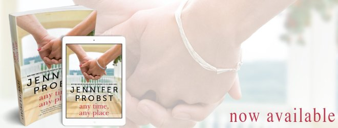 Release Banner, Any Time Any Place by Jennifer Probst