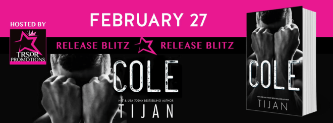 Release Banner for Cole, by Tijan