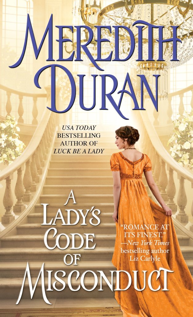 Front Cover, A Lady's Code of Misconduct, by Meredith Duran