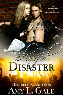 Book Cover, Blissful Disaster, by Amy L. Gale