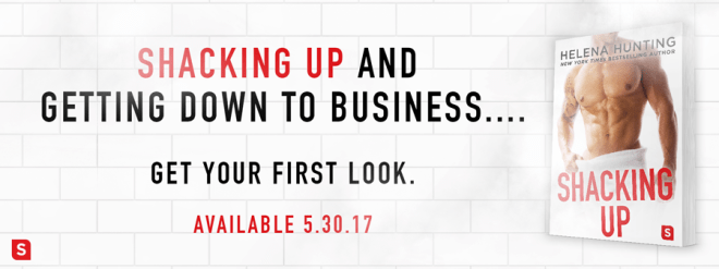 Excerpt Reveal Banner for Shacking Up by Helena Hunting
