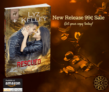 Release Promo Ad for Rescued, by Lyz Kelley