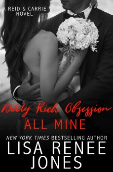 Front Cover, All Mine by Lisa Renee Jones