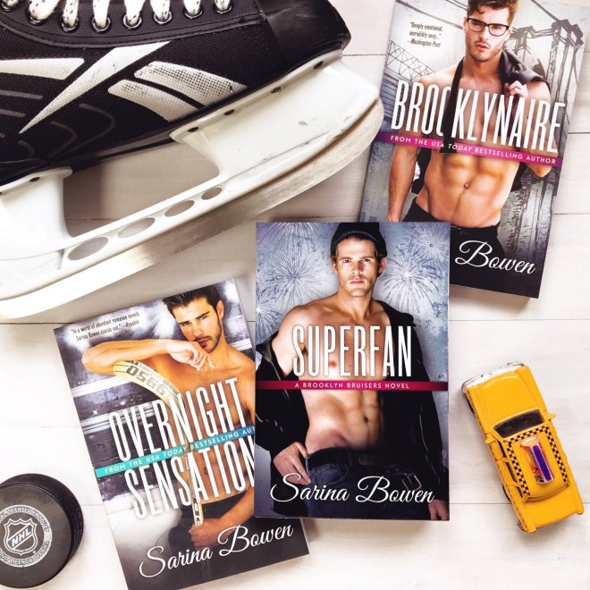 Book Covers from the Brooklyn Bruisers Series