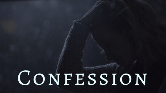 confession enables worship illustration graphic